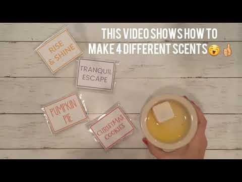 DIY Wax Melts using Essential Oils