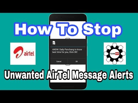 How to Stop Unwanted Airtel Message Alerts