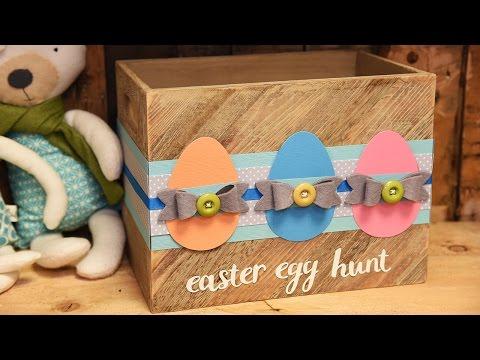Easter Egg Basket Quick Make