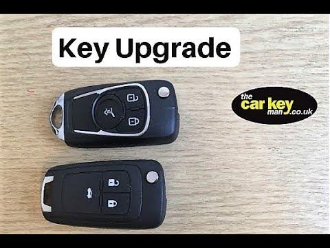 Insignia Astra Mokka Corsa Key Upgrade