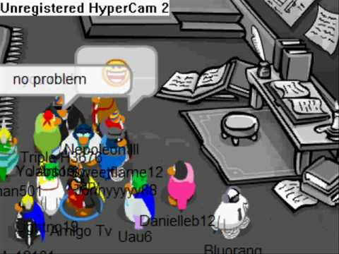 Gary in Club Penguin