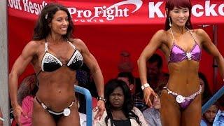 Venice Beach Short Figure Girls Compete