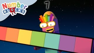 Numberblocks - Building Blocks + Solving Problems Backwards | Learn to Count
