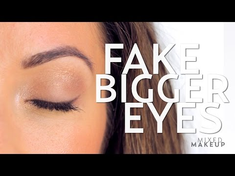 Fake the Look of Bigger Eyes with Makeup