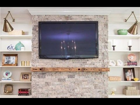 How to Install a Floating Mantel - Timelapse