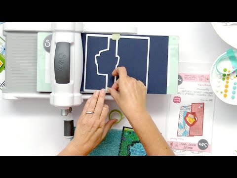 How to Use the Drop-Ins - Flip-It 2.0 Cards with Stephanie Barnard | Sizzix