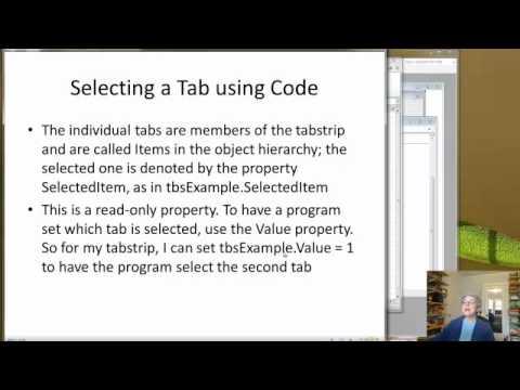 Excel 2010-2011 Tabstrip Control