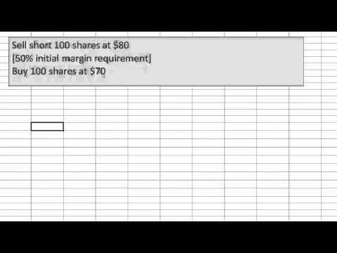 Selling stock short