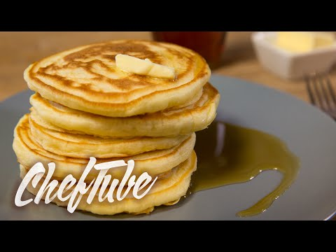 How to Make American Style Pancakes - Recipe in description