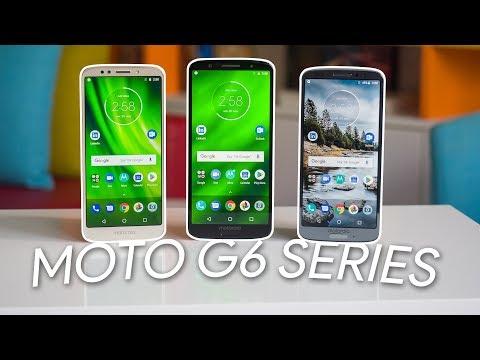 Motorola Moto G6, G6 Plus and G6 Play Review