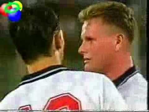 World Cup 1990 Semi-Final England v  Germany