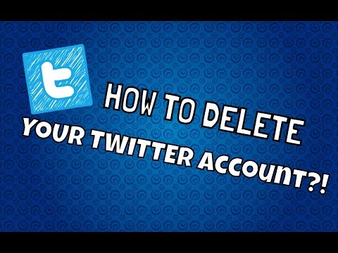 How To Delete Your Twitter Account Permanently - September 2016 ( STILL WORKING )
