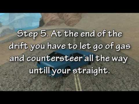 GTA San Andreas: How to Drift