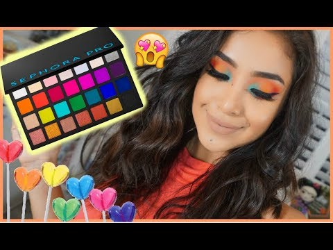 Sephora Pro Editorial Palette Tutorial | Dulce Candy