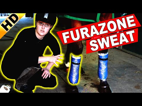 How To Apply A FURAZONE Sweat, DMSO Leg Sweat
