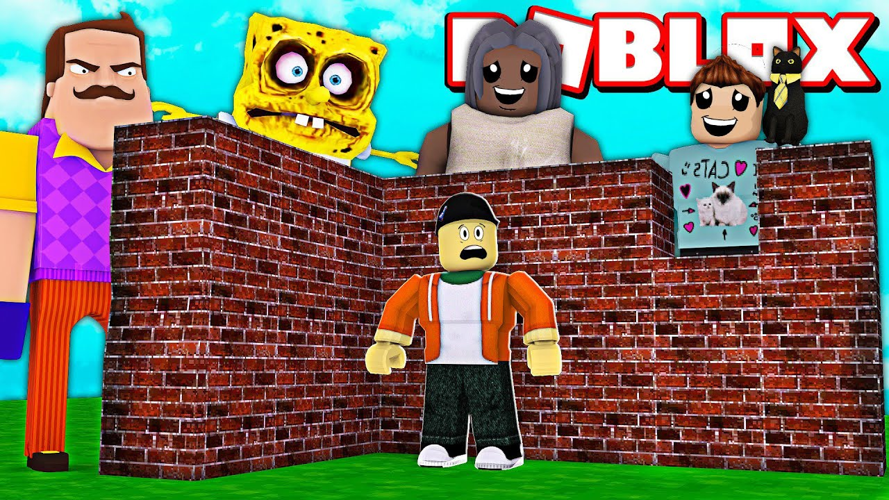 BUILDING AGAINST DENIS ARMY AND MONSTER ATTACKS IN ROBLOX! | Roblox Build To Survive Simulator