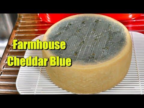 How to Make Farmhouse Cheddar Blue