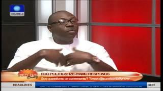 Edo Politics: Ize-Iyamu Responds, Oshiomhole Should Be Grateful To Me. Pt1