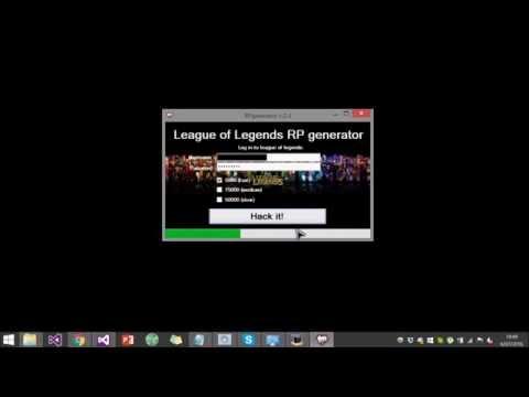 League Of Legends RP generator 2016 NO SURVEY , AFTER PATCH!