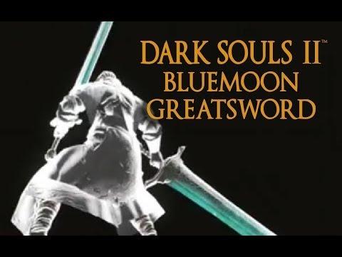 Dark Souls 2 Bluemoon Greatsword Tutorial (dual wielding w/ power stance)