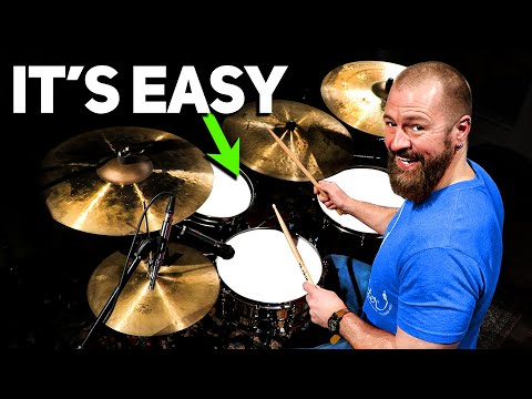 Applying Paradiddles To The Drum-Set (FULL DRUM LESSON)