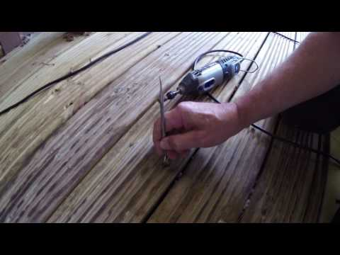 Clive's Tips - decking board and screw removal