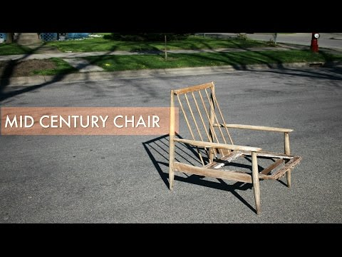 Mid Century Chair Frame Restoration