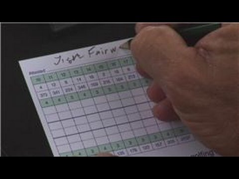 Golf Tips : How to Complete Golf Scorecards