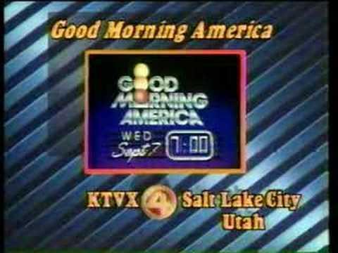 KTVX Salt Lake City, Utah 1983 ID