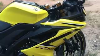 New Yamaha YZF R15 2018 ,Black colour Videos & Books
