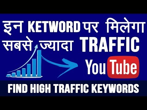 How To Find High Traffic Keywords for YouTube and Website