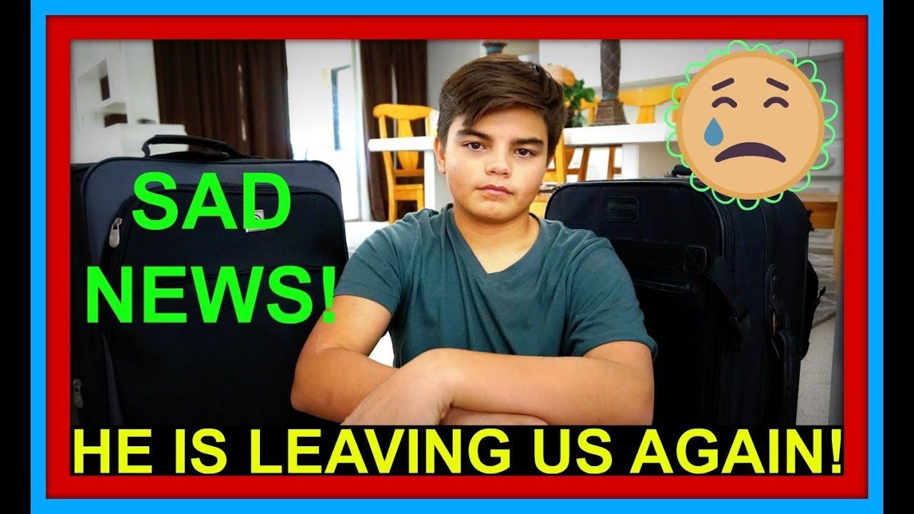 SAD NEWS! | HE'S LEAVING US AGAIN! | Q&A!