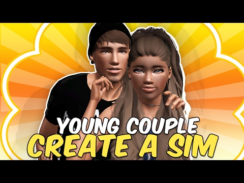Sims 3 || Create A Sim: Young Couple (Jenni Waugh and Dolton Owens)