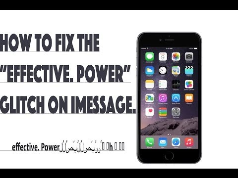 How to Get Rid Of The Effective Power Bug!