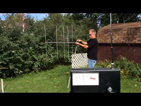 Ham Radio Beam Antenna Field Strength Demonstration