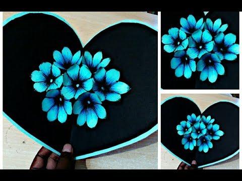 DIY 3D flower POP UP card Crafts-Handmade Craft