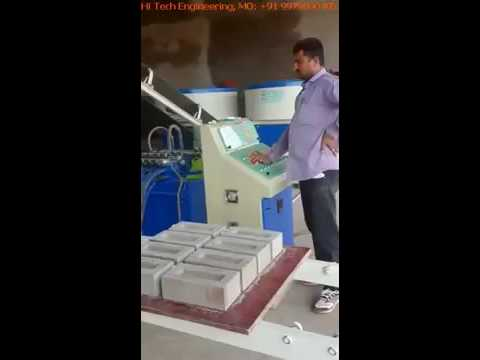 Fully Automatic Fly Ash Bricks Making Machine by Hi-tech Engineering, Morvi