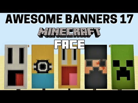✔ 5 AWESOME MINECRAFT BANNER DESIGNS WITH TUTORIAL! #17