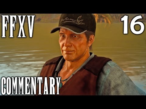Final Fantasy XV Walkthrough Part 16 - Fishing Buddies + The Professor's Protege (Chapter 3)
