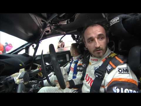 Robert Kubica Rally Wales GB WRC ss19 2015
