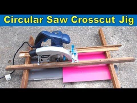 Simple Circular Saw Crosscut Jig | Cut Straight With Circular Saw
