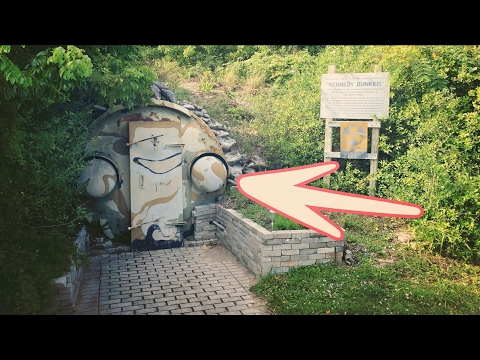 HIDDEN JFK NUCLEAR BOMB SHELTER ON ISLAND (EVEN LOCALS DON'T KNOW ) | OmarGoshTV