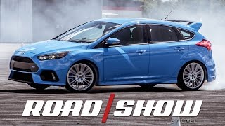 Drifting with the Stig on the Ford Focus RS