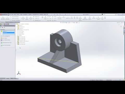 Creating a Reference Axis in SolidWorks