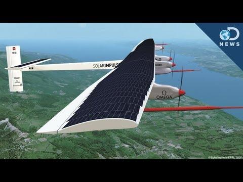Solar Impulse Plane Takes Flight