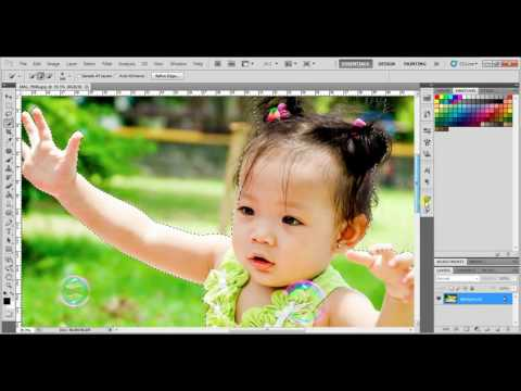 How to Change Background: Photoshop CS5