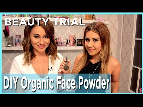 We Try A DIY Organic Face Powder - Money Saver or Bust?