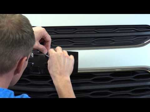 How To Change The Color of your Emblem With A Vinyl Kit