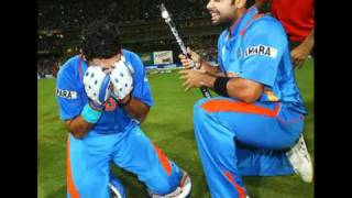 India 2011 world cup final  winning moment