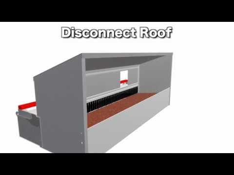 Back & Flopper Kit Assembly - Front/Rear Rollout Nest Boxes - HenGear.com
